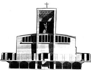 progetto originario chiesa