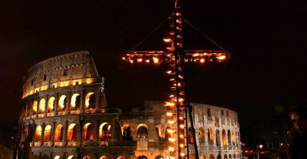 Una Via Crucis alla settimana