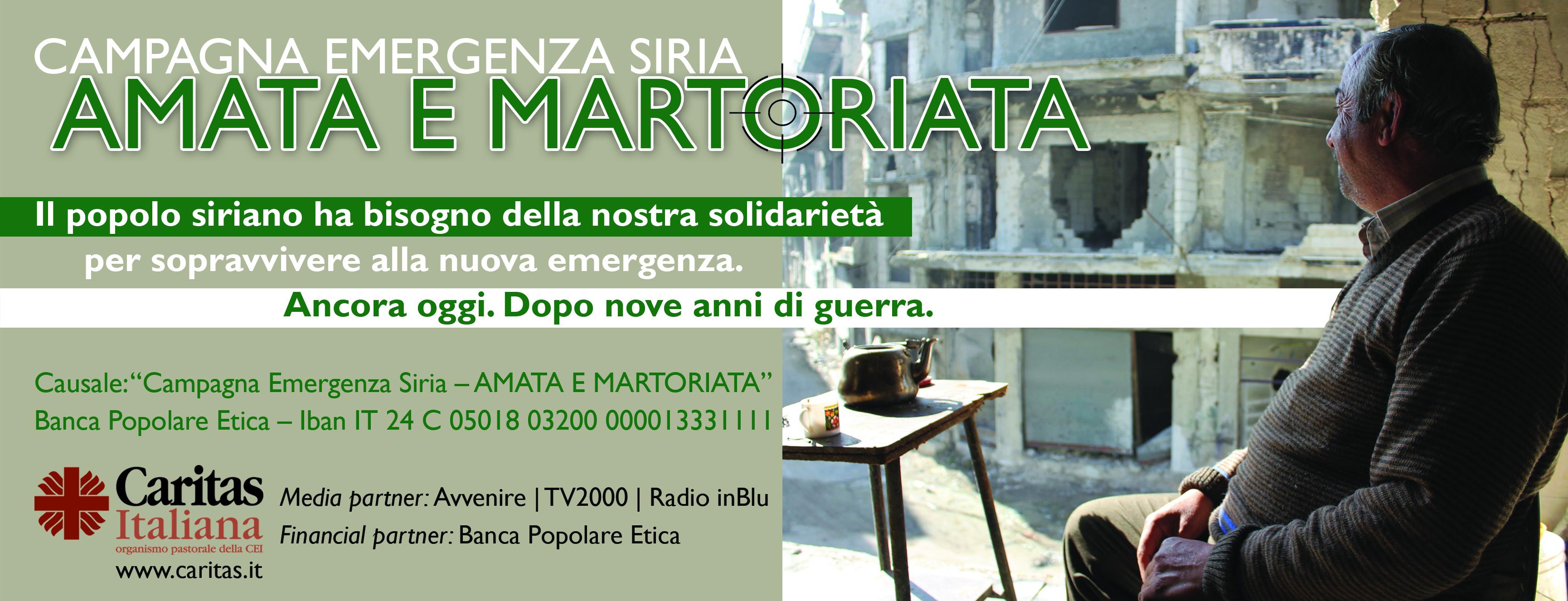Caritas Italiana – Campagna Emergenza Siria