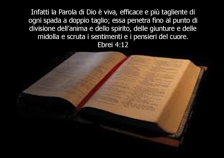 Un versetto della Scrittura al giorno