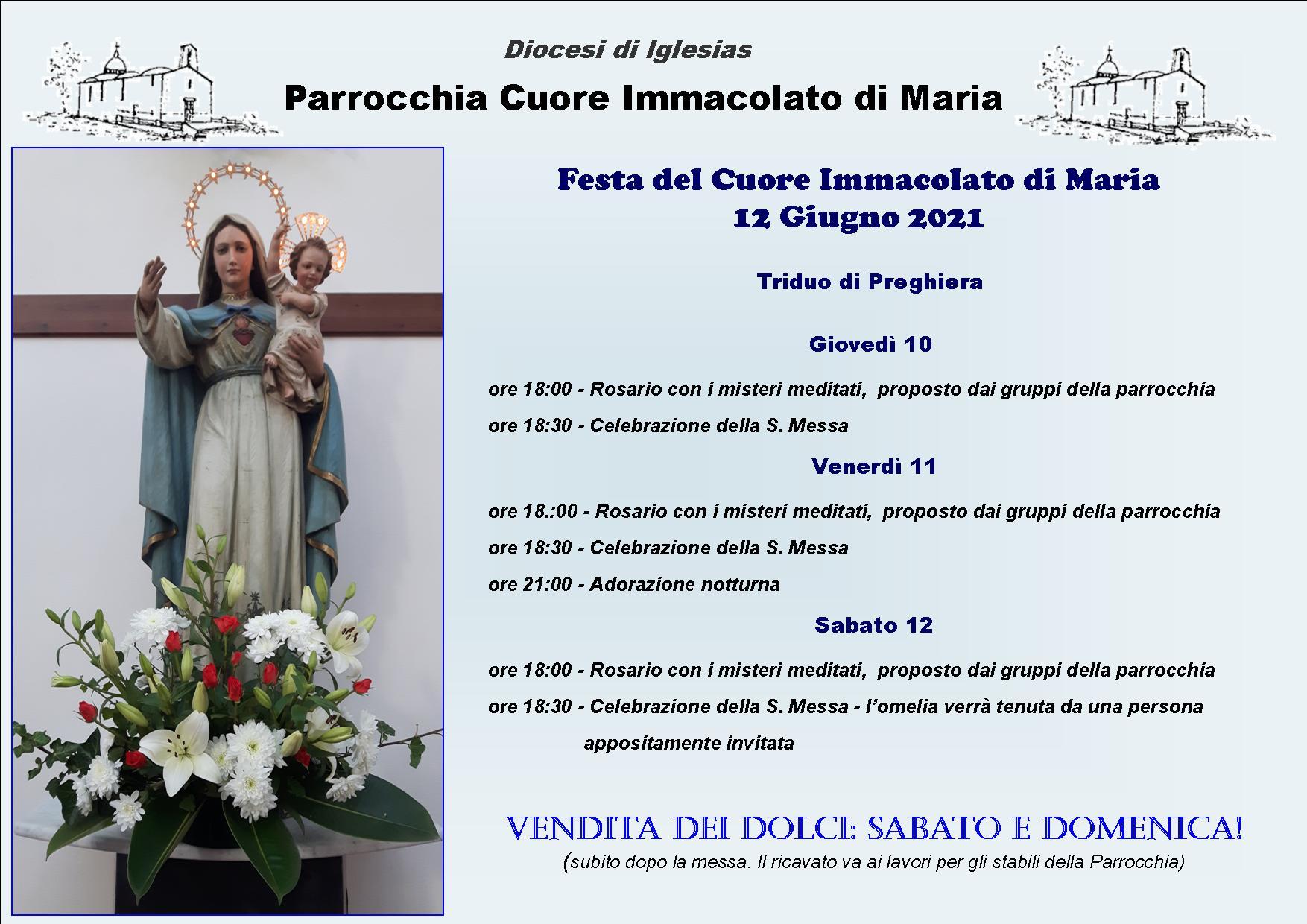 Festa della Parrocchia sabato 12 giugno